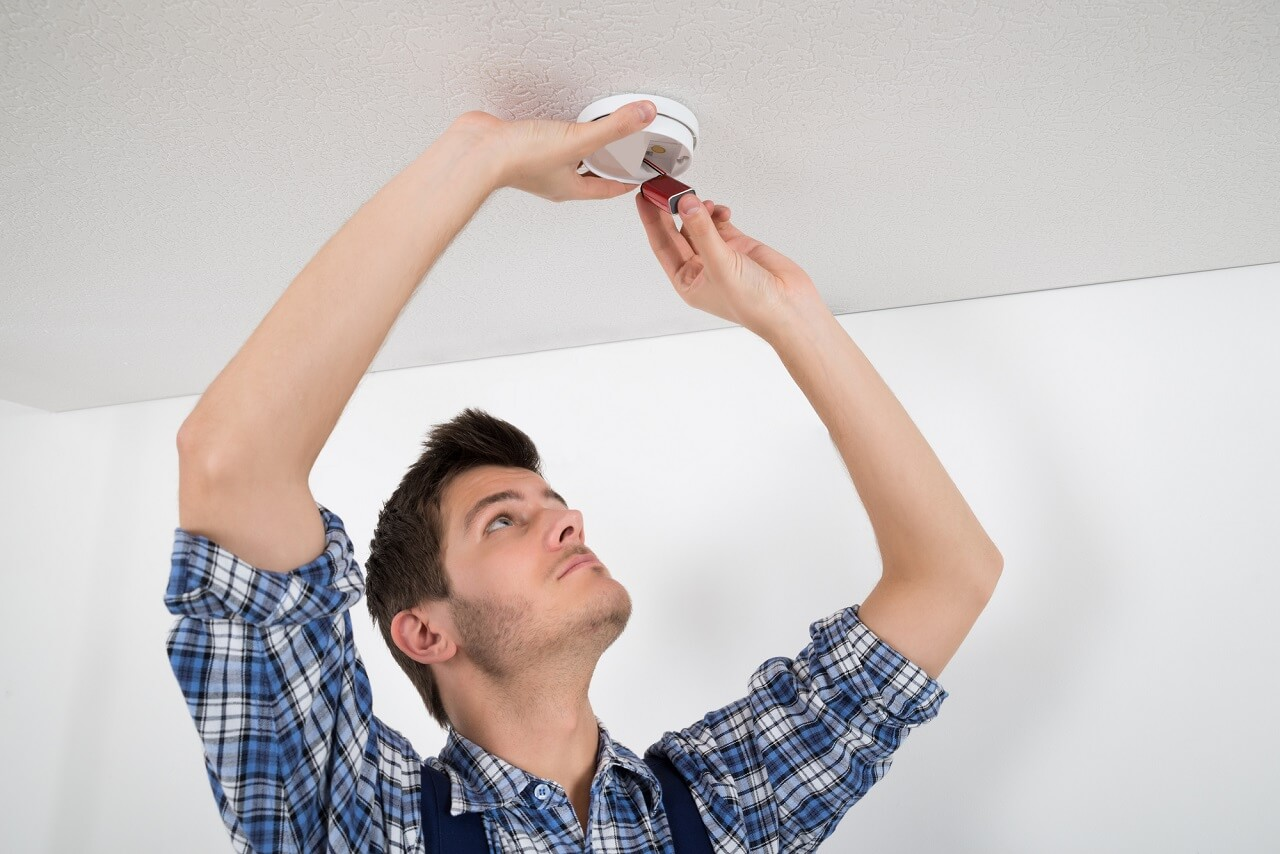 Smoke Detector Installation At Home Cal Home Inspection